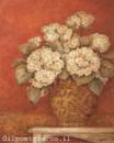 אדום אפור פרח דקורטיבי זר עיצוב הבית מטבח סלון אבסטרקט פרחוני  עיצוב פרחים